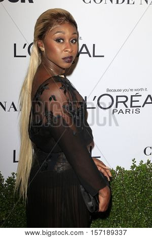 LOS ANGELES - NOV 14:  Cynthia Erivo at the Glamour Women Of The Year 2016 at NeueHouse Hollywood on November 14, 2016 in Los Angeles, CA