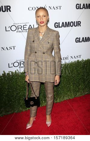 LOS ANGELES - NOV 14:  Adwoa Aboah at the Glamour Women Of The Year 2016 at NeueHouse Hollywood on November 14, 2016 in Los Angeles, CA