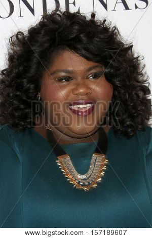 LOS ANGELES - NOV 14:  Gabourey Sidibe at the Glamour Women Of The Year 2016 at NeueHouse Hollywood on November 14, 2016 in Los Angeles, CA
