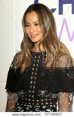 LOS ANGELES - NOV 15:  Jamie Chung at the People's Choice Awards Nominations Press Conference at Paley Center For Media on November 15, 2016 in Beverly Hills, CA