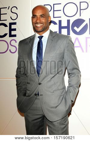 LOS ANGELES - NOV 15:  Boris Kodjoe at the People's Choice Awards Nominations Press Conference at Paley Center For Media on November 15, 2016 in Beverly Hills, CA