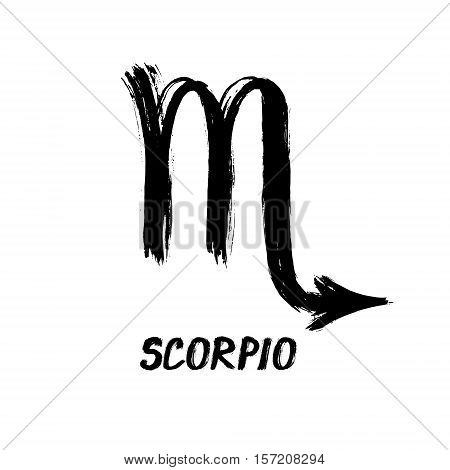 Grunge Zodiac Signs - Scorpio - The Scorpion