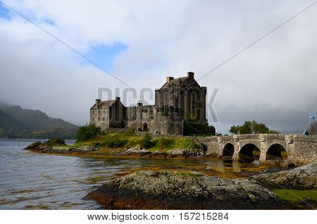 Eilean Donan is the most photographed castle in all of Scotland.