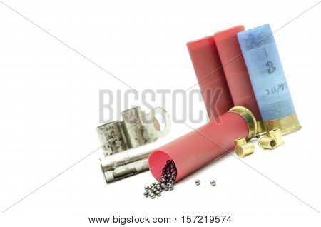 blank ammunition for the loading of ammunition for hunting weapons