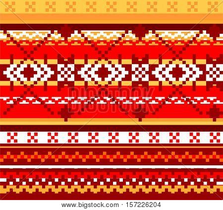 Seamless vector background with abstract geometrical pattern.