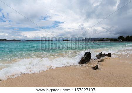 Sapphire Beach St. Thomas in the US Virgin Islands