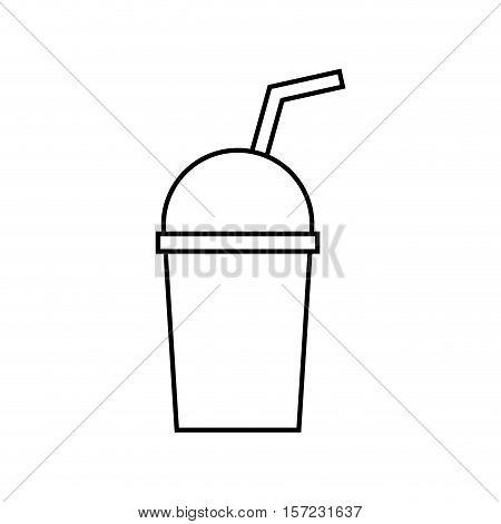plastic cup dome icon vector illustration graphic design