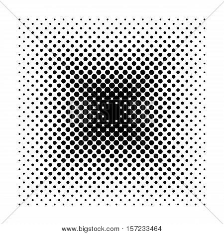 Vector Square halftone geometric shapes, Dot minimal design abstract square background. Dotwork Illustration, square pattern