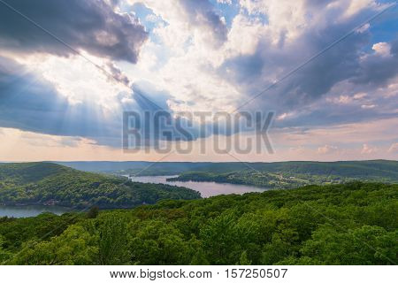 The View from the Pinnacle in Washington Connecticut New England