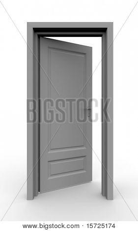 Isolated door