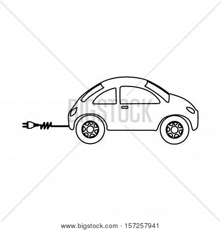 electrical car icon image vector illustration desgin