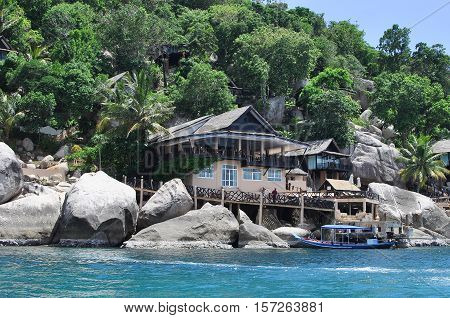 Koh Tao paradise tropical island in Thailand