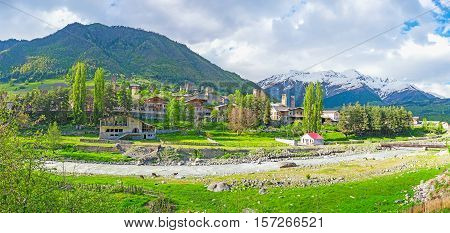Mestia is the main tourist center in Upper Svaneti and offers different ways to spend the unforgettable days Georgia.