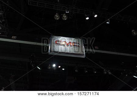 Gmc Logo On Display