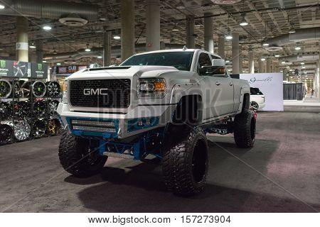 Gmc Big Truck On Display
