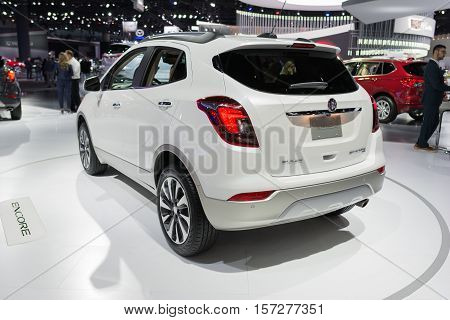 Buick Encore On Display