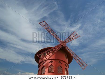 Moulin Rouge Of Paris, France