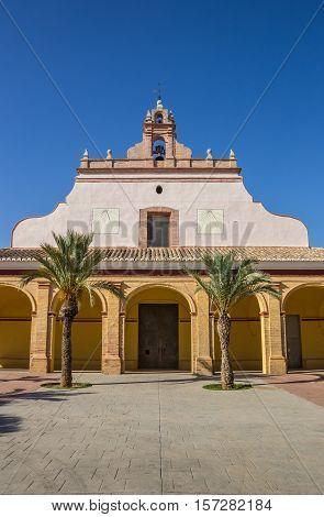 Ermita De Santa Barbara Church In Moncada