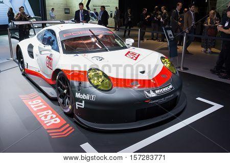 Porsche 911 Rsr On Display