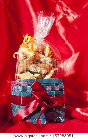 Gift Box Of Italian Home Made Biscuits