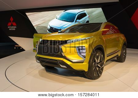 Mitsubishi Ex Concept On Display