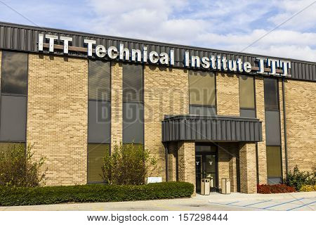 Indianapolis - Circa November 2016: ITT Educational Services Location. ITT Technical Institute has closed all its campuses in the wake of devastating federal sanctions IV