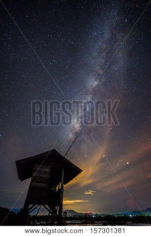 Milkyway seen at Kg Sangkir, Kota Belud, North Borneo
