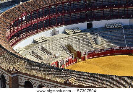 part of noname bullring Spain in Europe