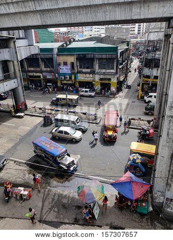 Street In Manila, Philippines