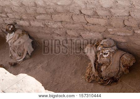 Chauchilla Cemetery (Necropolis de Chauchilla) @ Nazca, Peru