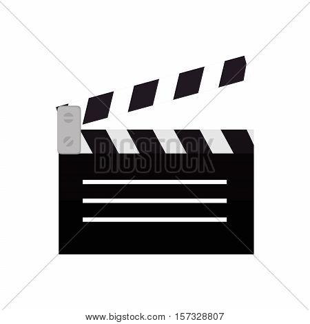 clapper film movie icon design vector illustration eps 10