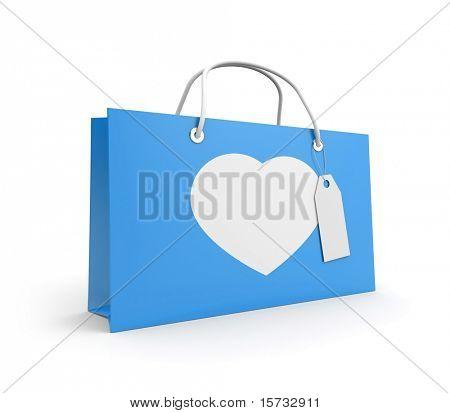 Bolso para el día de San Valentín