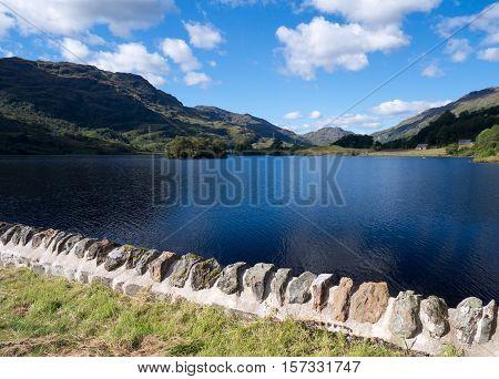 View on beautiful Loch Katrine in the Trossachs area, Scotland