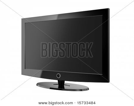 Modern widescreen TV