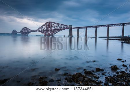 Forth bridges in Edinburgh, Scotland