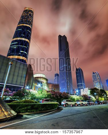 Skyscrapers Of The Zhujiang New Town, Guangzhou, China