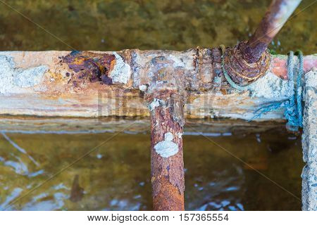 Steel Pipes Rust