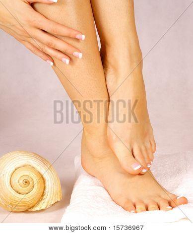 nice feet, pedicure, feet care