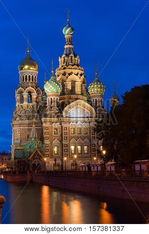 Orthodox Church of the Savior on Spilled Blood in St. Petersburg