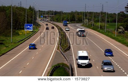 Uk Motorway Traffic