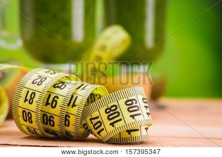 Close Up Of Centimeter Tape