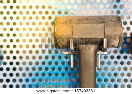 Hammer Tools In Garage