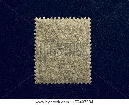 Vintage Looking Blank Stamp
