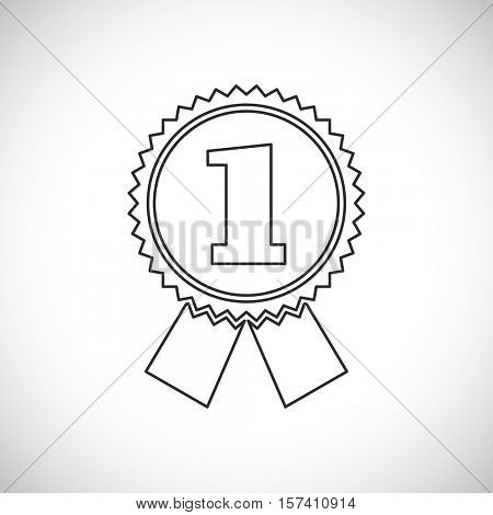 first place award badge icon