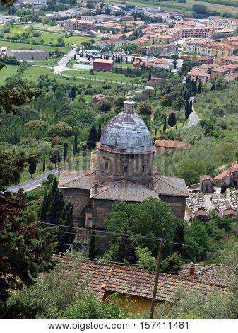 Cortona - Church of Santa Maria del Calcinaio