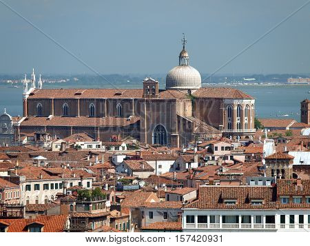 Venice - view from the tower of the church of San Giorgio Magiore