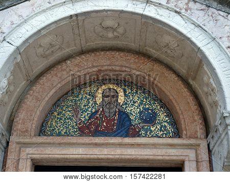 Venice - a charming small church in Dorsoduro