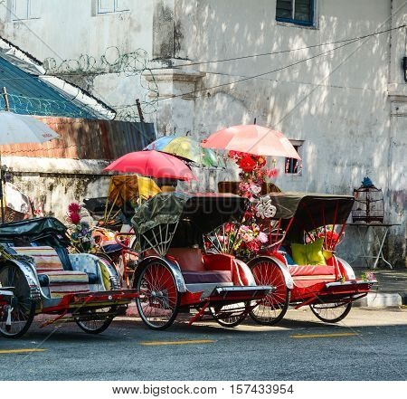 Streets In Historical Georgetown, Malaysia