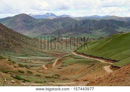 Landscape Of Tibetan Plateau