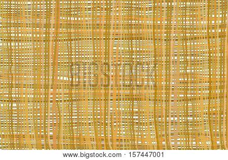 Background pattern of burlap linen thread vector illustration